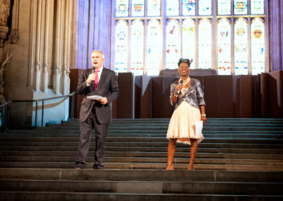 Westminster_Hall_BN129 Floella Benjamin and Huw Edwards