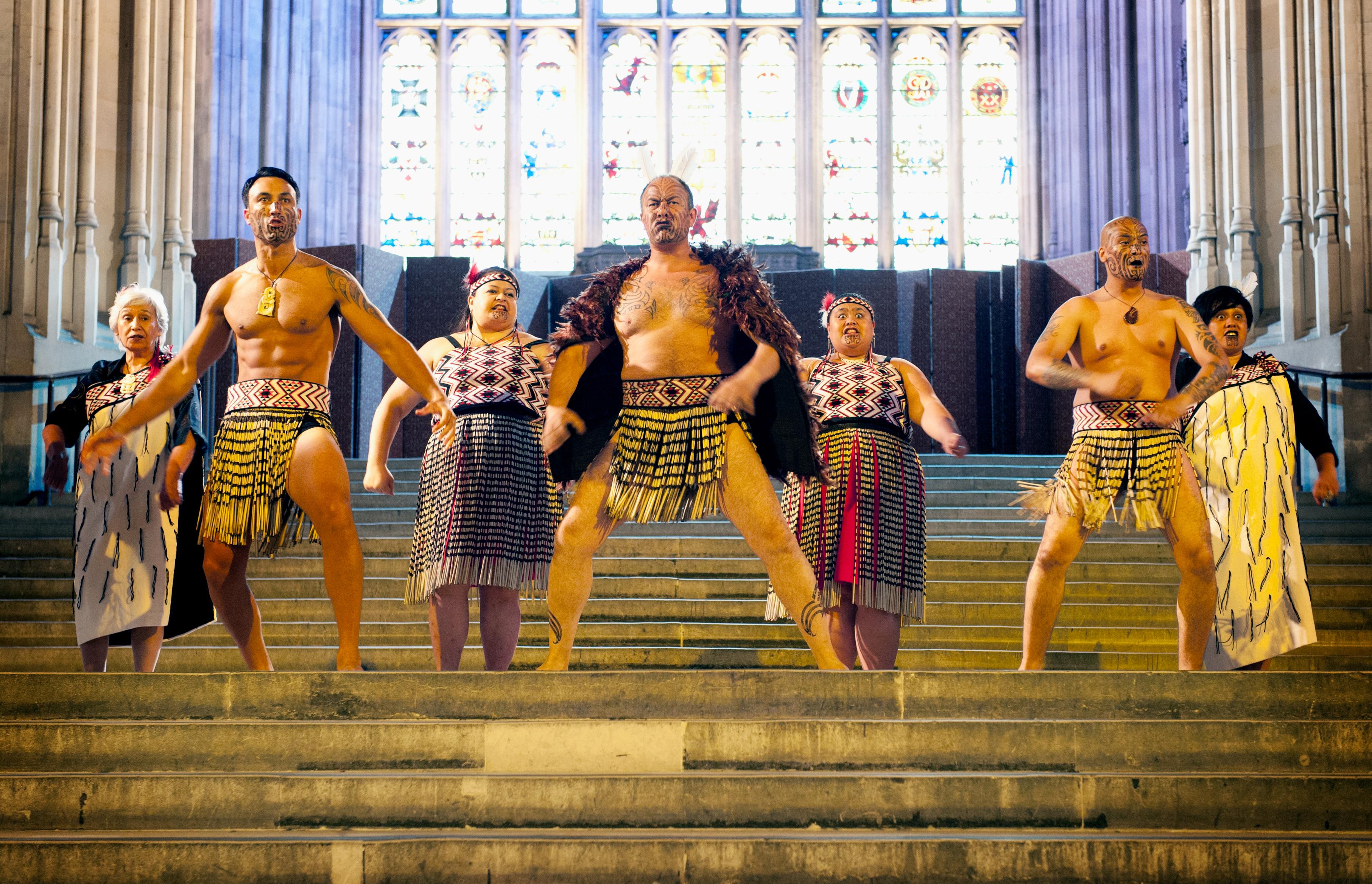 Nagati Ranana Maori Choir Haka