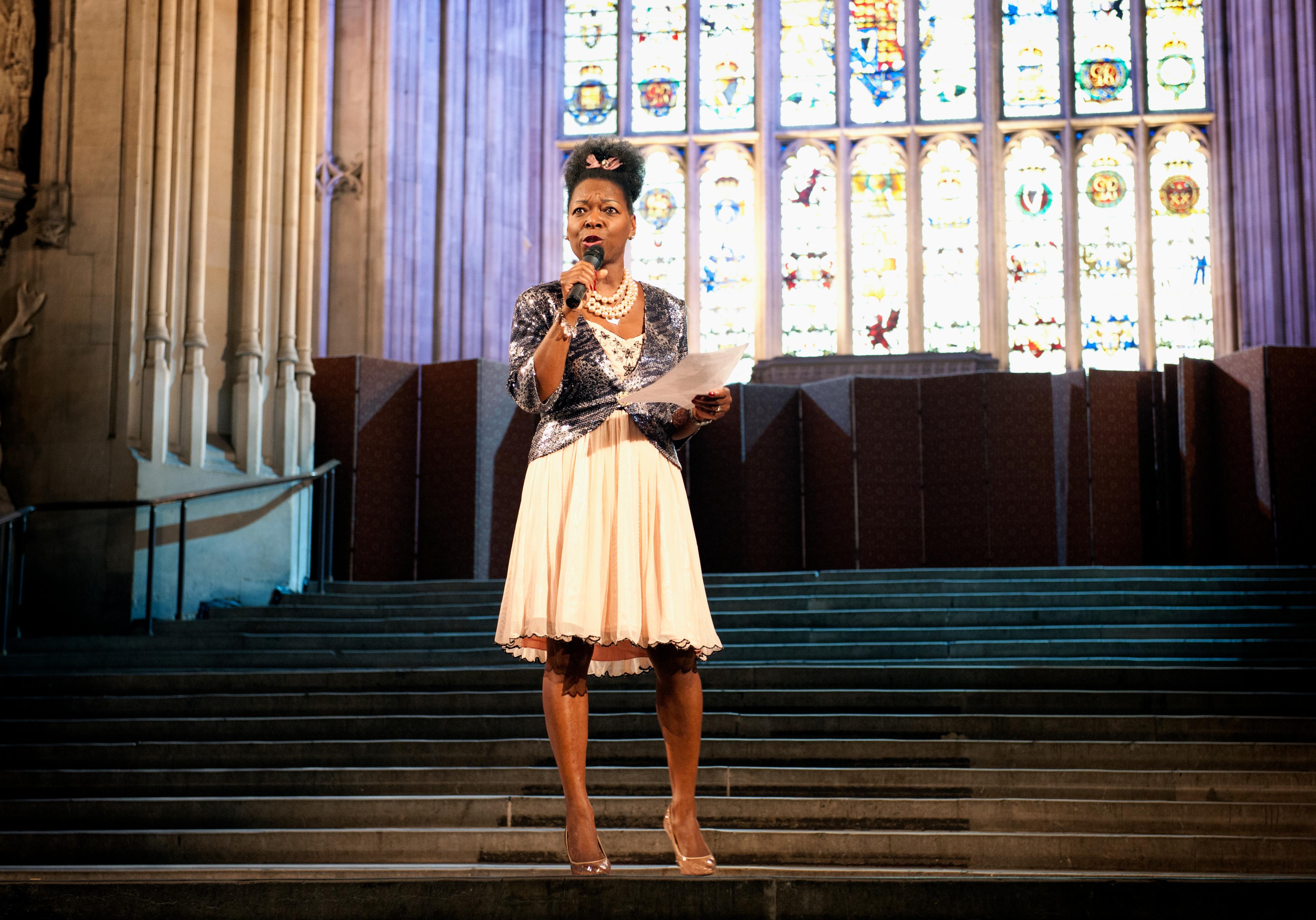 Host Baroness Floella Benjamin