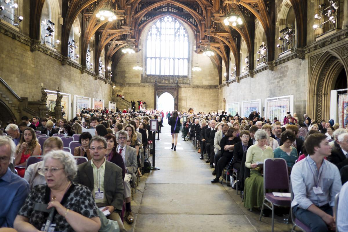 Audience in Westminster Hall