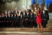 Laura Wright and Reading Blue Coat School Chamber Choir